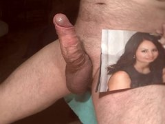 Tribute for sexsluttt - facial cum in her mouth