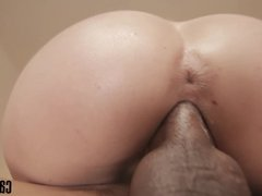 Candy May - Gives blowjob to BBC and get fucked