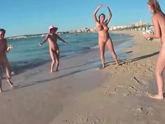 Nude Beach Ball