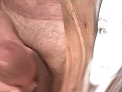 Tribute for therudebuy - nice girl gets a facial cumshot
