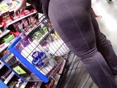 big latina ass shopping