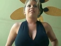 Blonde Big Tits Smoking