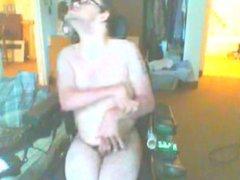 disabled guy masturbates