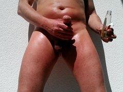 nackt im sonnenlicht