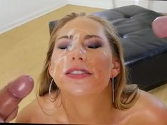 Double Cumshot in Slow Motion