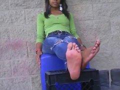 More Ebony Feet