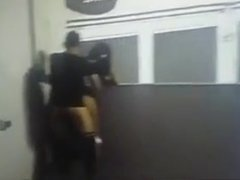 security guys catch a couple fucking
