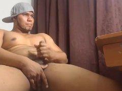 Str8 colombian muscle men jerk