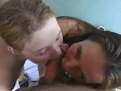 Blowjob WITH 2 hoties