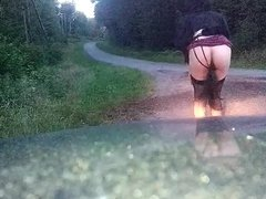 CD LadyBoyle Outdoor Butt Plug Tail