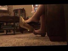 Dangling Heels Wife 1