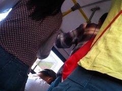 culazo en bus  el rapido