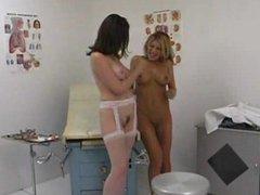 Lesbian nurse eats pussy part 2