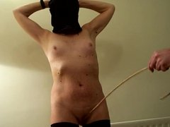Slave wife caning