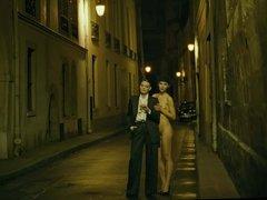 nude girl on the streets - movie saint-laurent
