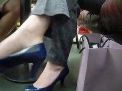 Hidden Camera Shoeplay
