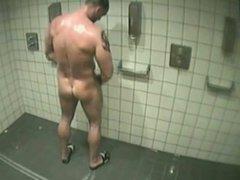 Locker shower spy