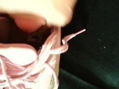 pink puma speed cat cummed