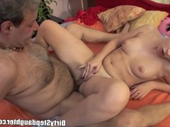 Sick Stepdaddy Sexually Nortured By not Stepdaughter