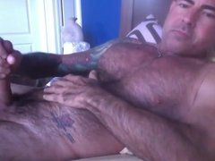 Str8 daddy in bed