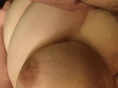 BBW Wife Clair - Big Tits Sucks Cock