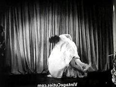 Long Legged Brunette Dances (1940s Vintage)