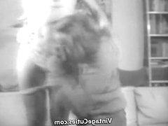 Stepfather Fucks Stepdaughter's Girlfriend (1960s Vintage)