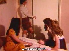 A Huge Cock Destroys Horny Girls (1960s Vintage)