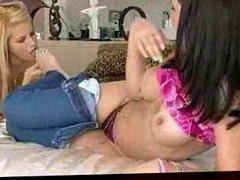 Big Tit Lesbians get horny part1 DMvideos