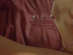 Yada! He cum-stained my night dress again!