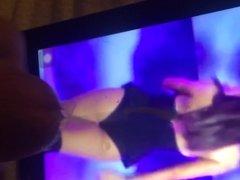 Ariana grande cum tribute 02