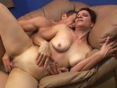 Sexy Granny Violet Jones Gets Fucked With A Facial