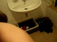 Teen Head #168 On her Knees in the Bathroom