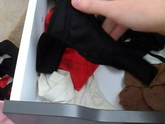 High School Girl Panty Drawer