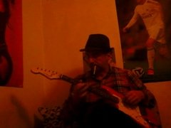 In a BLUES guitar playing mood.....