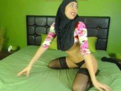 My hijabi dream fuck