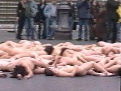 PUblic Nude in Rome