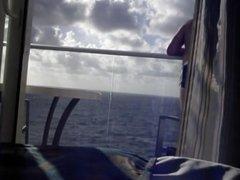Str8 balcony on a cruise