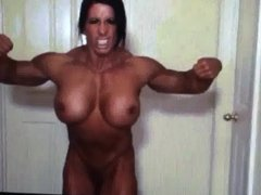 Angela Butt Naked Muscle