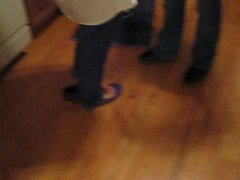 Purple Sam & Libby Ballet Flats Shoeplay Part 3