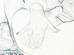 Blue Pantyhose Pull