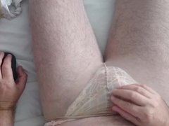 Love it!! Play and cum with lingerie