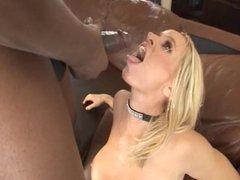Big black dick for blonde milf