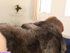 Sakura has mouth and fingered vagina fucked