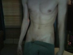 Teen show off his big Fat Cock.......