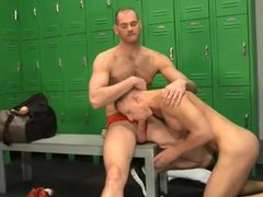 Fucking in the Locker Room