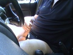 algaycho jo and cum in my car