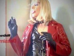 Mistress DessimA Smoking 120 In PVC Mack