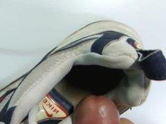 Cum in my friend's shoes.