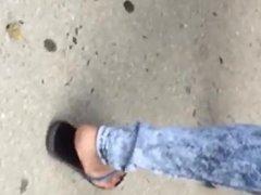 candid flip flop